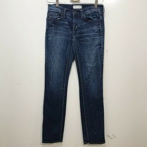 MADEWELL Skinny Jeans 25X32 in.  Dark Low Rise